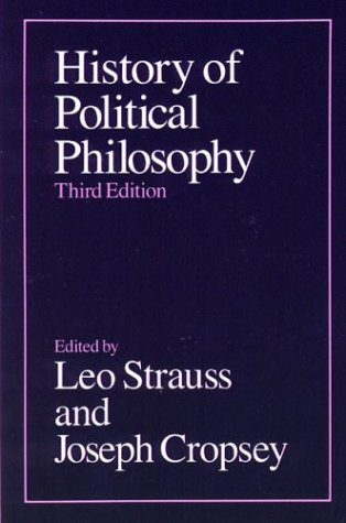 History of Political Philosophy 9780226777108