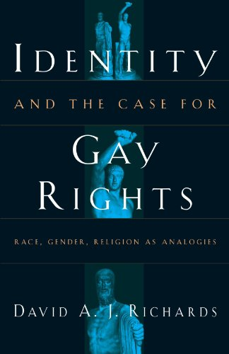 Identity and the Case for Gay Rights: Race, Gender, Religion as Analogies 9780226712093
