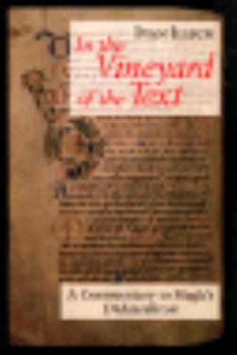 In the Vineyard of the Text: A Commentary to Hugh's Didascalicon 9780226372358
