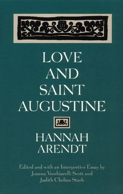 Love and Saint Augustine 9780226025964