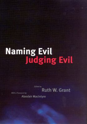 Naming Evil, Judging Evil 9780226306735