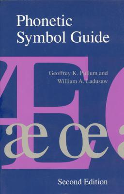 Phonetic Symbol Guide 9780226685366