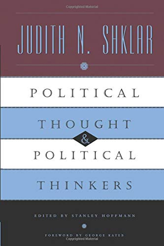 Political Thought and Political Thinkers 9780226753461