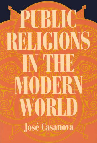 Public Religions in the Modern World 9780226095356