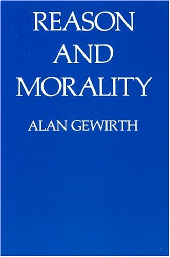 Reason and Morality Reason and Morality Reason and Morality 9780226288765