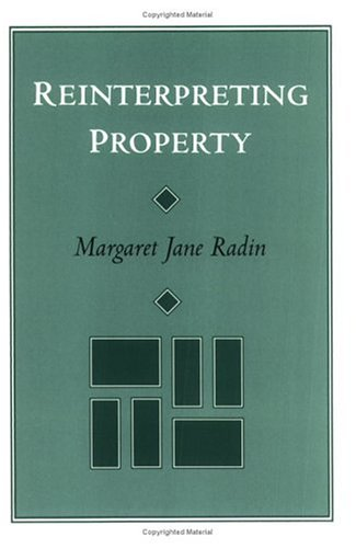 Reinterpreting Property 9780226702285