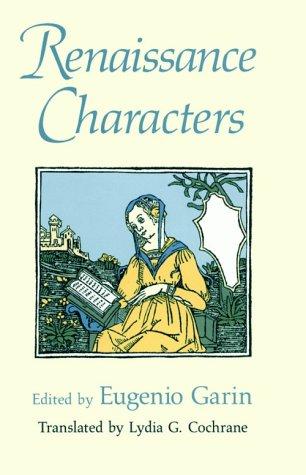 Renaissance Characters 9780226283562