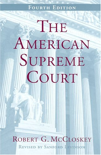 The American Supreme Court, Fourth Edition 9780226556826