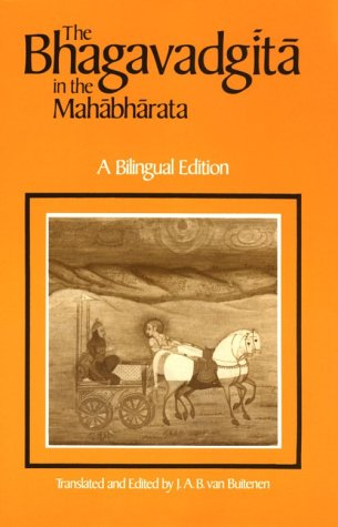 The Bhagavadgita in the Mahabharata 9780226846620