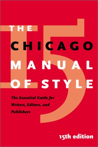 The Chicago Manual of Style: The Essential Guide for Writers, Editors, and Publishers 9780226104034