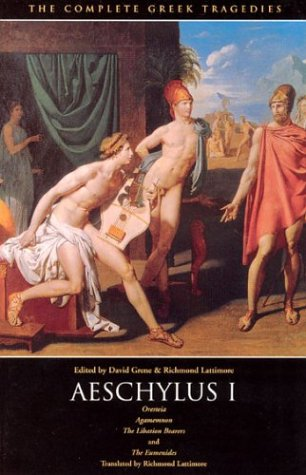 The Complete Greek Tragedies: Aeschylus I 9780226307787
