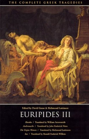 The Complete Greek Tragedies: Euripides III 9780226307824
