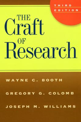 The Craft of Research 9780226065663