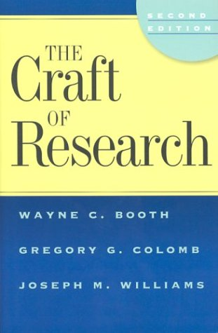 The Craft of Research 9780226065670