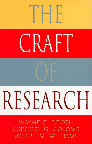 The Craft of Research 9780226065847
