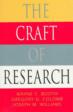 The Craft of Research 9780226065830