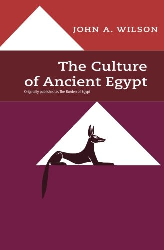 The Culture of Ancient Egypt 9780226901527