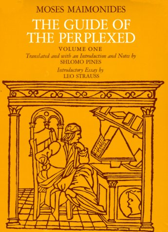 The Guide of the Perplexed, Volume 1 9780226502304