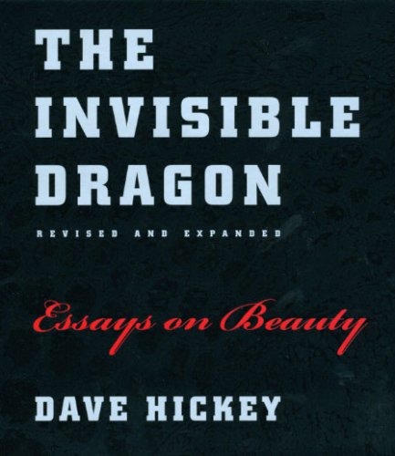 The Invisible Dragon: Essays on Beauty 9780226333182