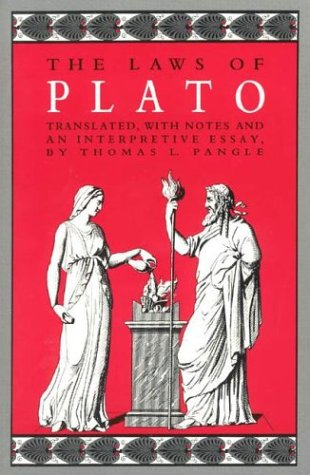 The Laws of Plato 9780226671109