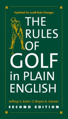 The Rules of Golf in Plain English 9780226458182