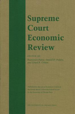 The Supreme Court Economic Review, Volume 19 9780226767635