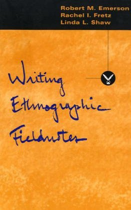 Writing Ethnographic Fieldnotes 9780226206813