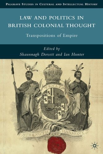 Law and Politics in British Colonia: Transpositions and Empire 9780230104556
