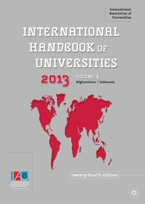The International Handbook of Universities 9780230223486