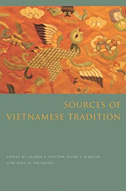 Sources of Vietnamese Tradition 9780231138635