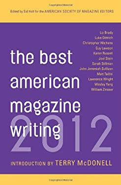 Best American Magazine Writing 2012 9780231162234