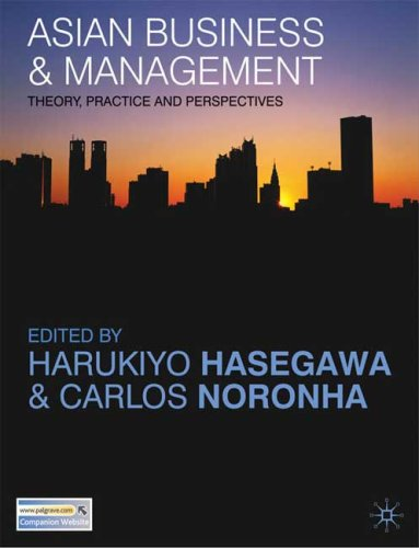Asian Business and Management: Theory, Practice and Perspectives 9780230545069