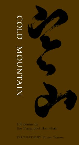 Cold Mountain: 100 Poems: By the T'Ang Poet Han-Shan 9780231034500