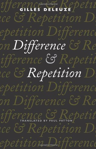 Difference and Repetition 9780231081580