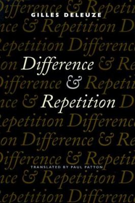 Difference and Repetition 9780231081597