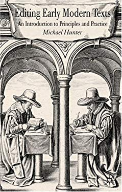 Editing Early Modern Texts 9780230008076