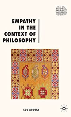 Empathy in the Context of Philosophy 9780230241831