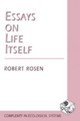 Essays on Life Itself 9780231105118
