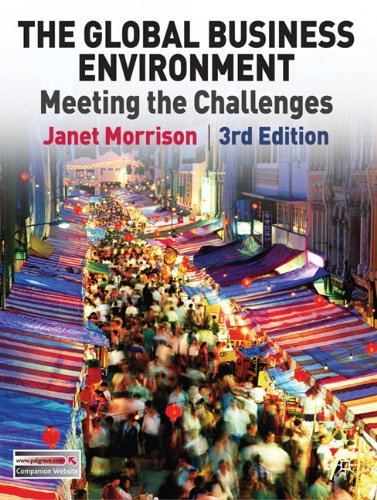 The Global Business Environment: Meeting the Challenges 9780230210257