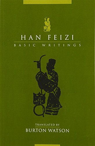 Han Feizi: Basic Writings 9780231129695