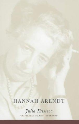 Hannah Arendt 9780231121033