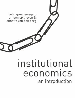 Institutional Economics: An Introduction 9780230550735