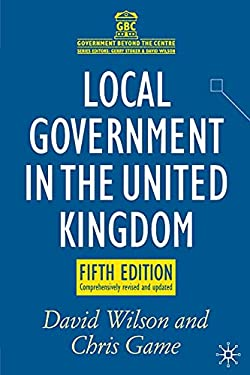 Local Government in the United Kingdom 9780230246393
