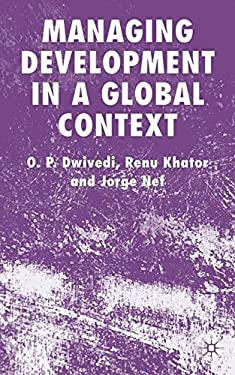 Managing Development in a Global Context 9780230000056