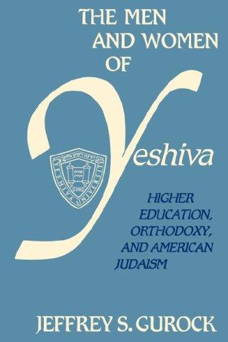 Men Women Yeshiva 9780231066181
