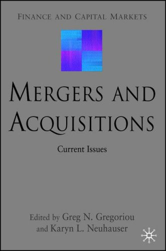 Mergers and Acquisitions: Current Issues 9780230553798