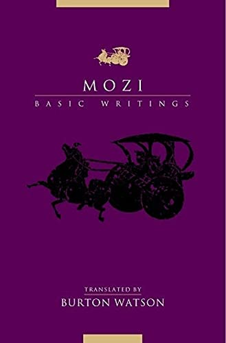 Mozi: Basic Writings 9780231130011