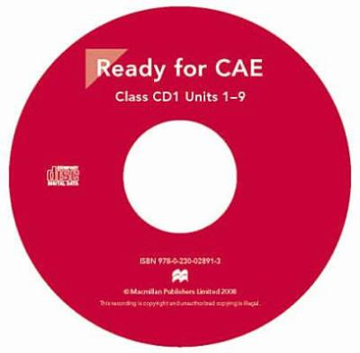 New Ready for CAE: Audio CD 9780230028913