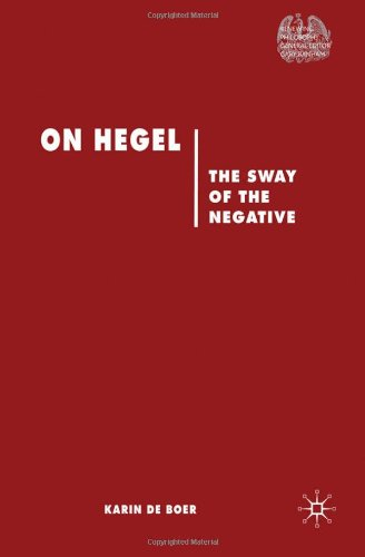 On Hegel: The Sway of Negative