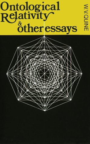 Ontological Relativity: And Other Essays 9780231083577